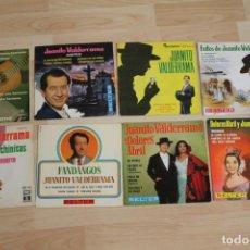 Discos de vinilo: LOTE 8 EP'S Y SINGLE JUANITO VALDERRAMA DOLORES ABRIL. Lote 140646838