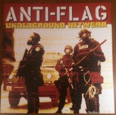 Discos de vinilo: ANTI FLAG - UNDERGROUND NETWORK LP VINILO PUNK. Lote 140648514