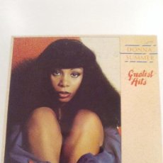 Discos de vinilo: DONNA SUMMER GREATEST HITS ( 1977 GROOVY RECORDS GERMANY ) BUEN ESTADO GIORGIO MORODER. Lote 140652990