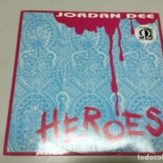 Discos de vinilo: JORDAN DEE- HEROES. REF 63. Lote 140654286