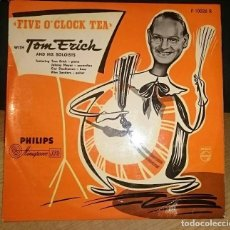 Discos de vinilo: VINILO DISCO TOM ERICH AND HIS SOLOIST FIVE O´CLOCK TEA 10 PULGADAS INCH. Lote 140657730