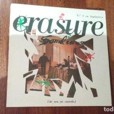 Discos de vinilo: ERASURE-SOMETIMES.MAXI ESPAÑA. Lote 140660058