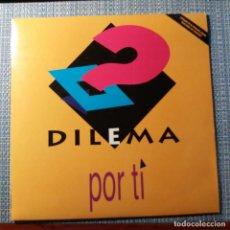 Discos de vinilo: DILEMA - POR TI - . Lote 140666174