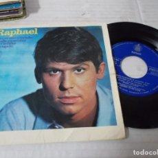 Discos de vinilo: RAPHAEL. ESTUVE ENAMORADO. DESDE AQUEL DIA, NO VUELVAS. MI REGALO.. Lote 140676574