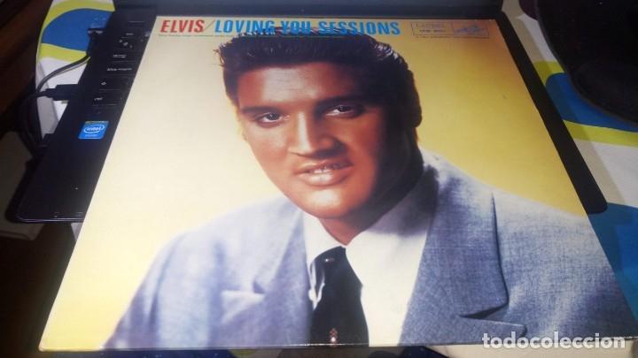 Discos de vinilo: ELVIS PRESLEY - LOVING YOU SESSIONS - LP LAUREL - Foto 2 - 140160834