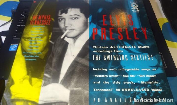 Discos de vinilo: ELVIS PRESLEY - MEMPHIS TENNESSEE - LP AUDIFON - Foto 3 - 140163722
