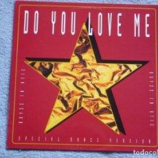 Discos de vinilo: BOYZZ IN ATTIC,DO YOU LOVE ME DEL 94. Lote 140685598