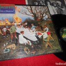 Discos de vinilo: NAZARETH MALICE IN WONDERLAND LP 1980 VERTIGO EDICION ESPAÑOLA SPAIN. Lote 140686082