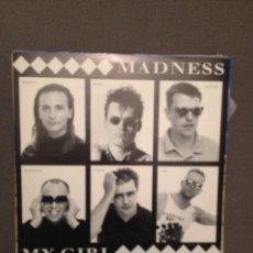 Discos de vinilo: MADNESS : MY GIRL / MADNESS (LIVE) VIRGIN RECORDS 1992 . Lote 140694726