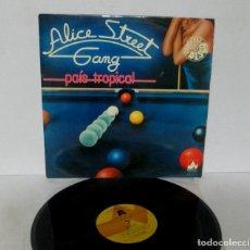 Discos de vinilo: ALICE STREET GANG - PAIS TROPICAL - LP - DIAL DISCO 1978 SPAIN ND-5.015 ESPECIAL DISCO. Lote 140710522