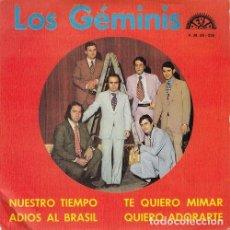 Discos de vinilo: LOS GEMINIS - TE QUIERO MIRAR - EP PROMOCIONAL DE VINILO DE 1973 - DISCOS BERTA. Lote 140710974