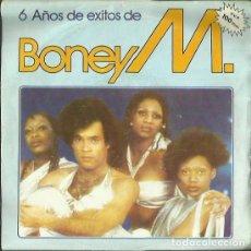 Discos de vinilo: BONEY M. SINGLE. SELLO ARIOLA. EDITADO EN ESPAÑA. AÑO 1982. Lote 140713278