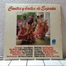 Discos de vinilo: CANTANTES Y BAILES DE ESPAÑA . Lote 140713458