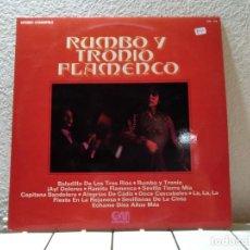 Discos de vinilo: RUMBO Y TRONIO FLAMENCO . Lote 140713678