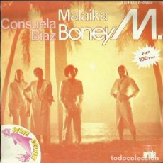 Discos de vinilo: BONEY M. SINGLE. SELLO ARIOLA. EDITADO EN ESPAÑA. AÑO 1981. Lote 140714494