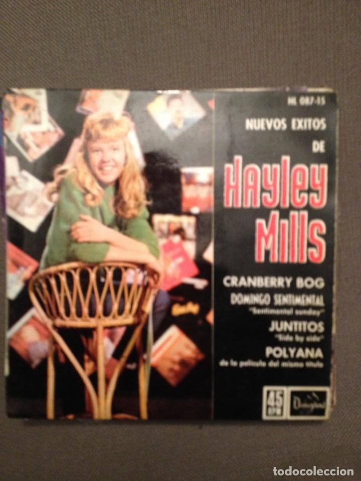 HAYLEY MILLS?: NUEVOS EXITOS DE HAYLEY MILLS HISPAVOX ?– HL 087-15 ED. ESPAÑA 1962 (Música - Discos de Vinilo - EPs - Bandas Sonoras y Actores)