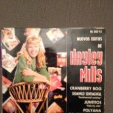 Discos de vinilo: HAYLEY MILLS?: NUEVOS EXITOS DE HAYLEY MILLS HISPAVOX ?– HL 087-15 ED. ESPAÑA 1962. Lote 140718618