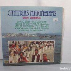 Discos de vinilo: CANTIGAS MARIÑEIRAS. GRUPO CAMARIÑAS. LP VINILO. OLYMPO. 1980. VER FOTOGRAFIAS ADJUNTAS. Lote 295438013