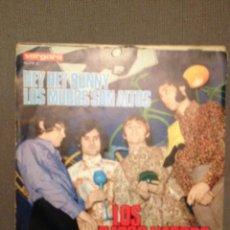 Discos de vinilo: LOS GATOS NEGROS: HEY HEY BUNNY , LOS MUROS SON ALTOS VERGARA 45.259-A - AÑO 1968 RARO DIFICIL. Lote 140724762
