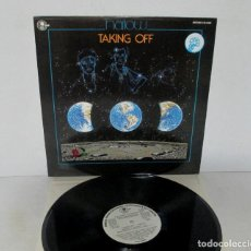 Discos de vinilo: HARLOW - TAKING OFF - LP - CARNABY 1980 SPAIN PROMO TXS 3182 VINILO NUEVO - SUPER RARE. Lote 140726766