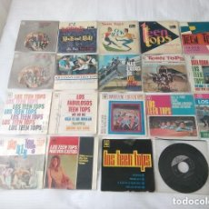 Discos de vinilo: LOS TEEN TOPS / LOTE 16 EP + SINGLE + PORTADA 45 RPM/ EDITADOS POR FONTANA Y CBS. Lote 140753594