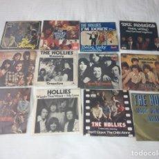 Discos de vinilo: THE HOLLIES / LOTE 1 EP + 11 SINGLE 45 RPM / EDITADOS EN ESPAÑA. Lote 140757586