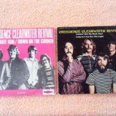 Discos de vinilo: ANTIGUOS SINGLES VINILO CREEDENCE CLEARWATER REVIVAL.1969-1970.MARFER.ESPAÑA.. Lote 140762822