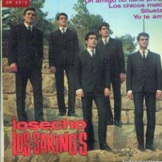 Discos de vinilo: JOSECHO Y LOS SAKINGS / UN AMIGO NO TIENE PRECIO + 3 (EP 1965). Lote 140769126