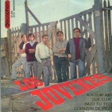 Discos de vinilo: LOS JOVENES / ADIOS, MI AMOR + 3 (EP 1965). Lote 140770786