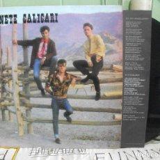 Discos de vinilo: GABINETE CALIGARI QUE DIOS REPARTA SUERTE CON ENCARTE LP TRES CIPRESES 1983 . Lote 140784354