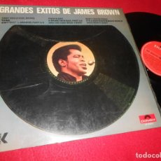 Discos de vinilo: JAMES BROWN GRANDES EXITOS LP 1970 POLYDOR 2310015 EDICION ESPAÑOLA SPAIN. Lote 140789998