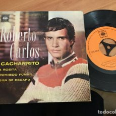Dischi in vinile: ROBERTO CARLOS (MI CACHARRITO +3) EP VENEZUELA. MUY RARO (EPI14). Lote 140792446