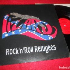 Discos de vinilo: LIZARD ROCK'N'ROLL REFUGEES LP 1991 RED EDICION ALEMANA GERMANY. Lote 140793534