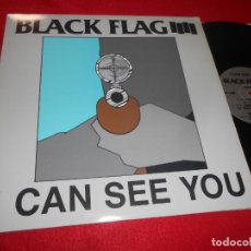 Discos de vinilo: BLACK FLAG I CAN SEE YOU/KICKIN & STICKIN +2 12 MX 1989 SST 226 EDICION AMERICANA USA. Lote 140795050