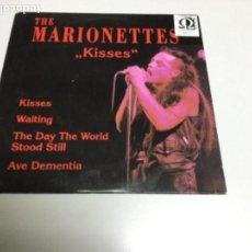 Discos de vinilo: THE MARIONETTES - KISSES . REF 16. Lote 140602774