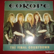 Discos de vinilo: EUROPE, THE FINAL COUNTDOWN (MAXI SINGLE), ED. ESPAÑA, 1986. Lote 140812210