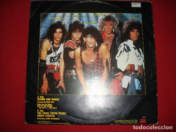 Discos de vinilo: Ratt, Round and Round (Maxi Single), Ed. Alemania, 1984 - Foto 2 - 140812474
