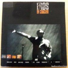Discos de vinilo: EROS RAMAZZOTTI - IN CONCERT - DOBLE LP. Lote 140829274