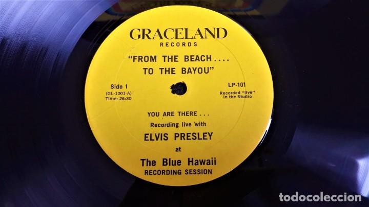 Discos de vinilo: ELVIS PRESLEY - FROM THE BEACH TO BAYOU - LP EDITADO EN USA. - Foto 3 - 140416810