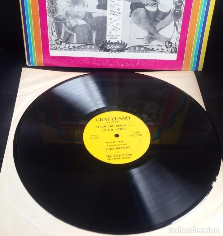 Discos de vinilo: ELVIS PRESLEY - FROM THE BEACH TO BAYOU - LP EDITADO EN USA. - Foto 4 - 140416810