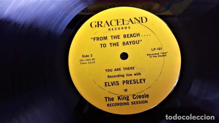 Discos de vinilo: ELVIS PRESLEY - FROM THE BEACH TO BAYOU - LP EDITADO EN USA. - Foto 5 - 140416810