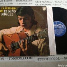 Discos de vinilo: EL NIÑO MIGUEL, LA GUITARRA DE EL NIÑO MIGUEL. Lote 140836529