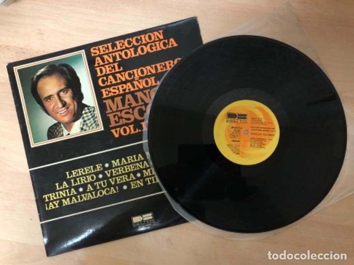 Discos de vinilo: DISCO VINILO LP MANOLO ESCOBAR - Foto 2 - 140839342