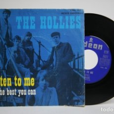 Discos de vinilo: DISCO SINGLE DE VINILO - THE HOLLIES / LISTEN TO ME, DO THE BEST YOU CAN - ODEON - AÑO 1968. Lote 140840269