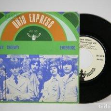 Discos de vinilo: DISCO SINGLE DE VINILO - OHIO EXPRESS / CHEWY CHEWY, FIREBIRD - BUDDAH RECORDS - AÑO 1968. Lote 140840433