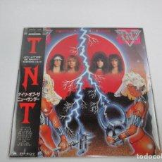 Discos de vinilo: VINILO EDICIÓN JAPONESA DEL LP DE TNT KNIGHTS OF THE NEW THUNDER. Lote 140842362