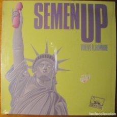 Discos de vinilo: SEMEN UP– VUELVE EL HOMBRE LP. Lote 140843478