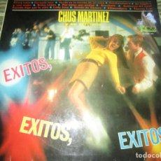 Discos de vinilo: CHUS MARTINEZ Y SU CONJUNTO - EXITOS LP - ORIGINAL ESPAÑOL - EKIPO RECORDS 1967 - MONOAURAL -. Lote 140846098