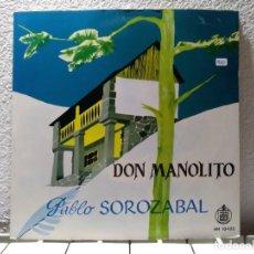 Discos de vinilo: DON MANOLITO. Lote 140852046
