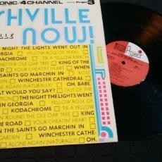 Discos de vinilo: THE NASHVILLE SWEAT BAND - NASHVILLE NOW - THE NASHVILLE JETS - GATEFOLD - 1973 -U.S.A -MUY RARO. Lote 140853274